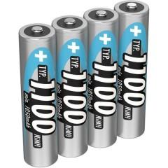 HR03 Batteria ricaricabile Ministilo (AAA) NiMH 1050 mAh 1.2 V 4 pz.