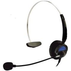 KJ-97 Cuffia telefonica Presa RJ10 Filo, Mono Cuffia On Ear Nero