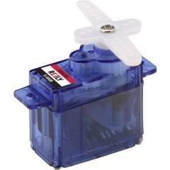 Mini Servo Servo analogico Materiale trasmissione: Plastica Sistema innesto: JR