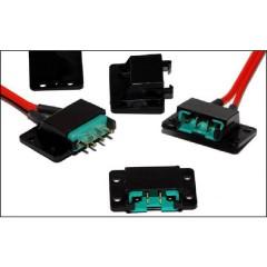 MPX Schraubclips Kit accessori per servo (L x L x A) 28 x 24 x 11 mm 4 pz.