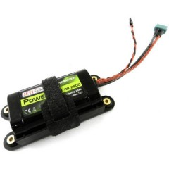 Batteria ricaricabile LiIon 7.2 V 2600 mAh Softcase Presa MPX, Presa JR