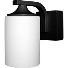 ENDURA CLASSIC LANTERN CYL E27 BK LEDV Lampada da parete Nero, Bianco