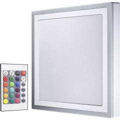 LED COLOR WHITE SQ 400MM 38W LEDV Plafoniera LED Bianco 38 W Bianco caldo