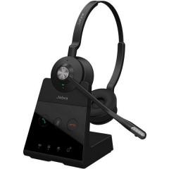 Engage 65 Stereo Cuffie Stereo DECT Stereo, Senza filo Cuffia On Ear Nero