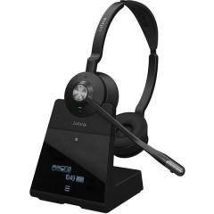 Engage 75 Stereo Cuffie Stereo DECT Stereo, Senza filo Cuffia On Ear Nero