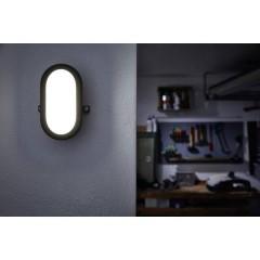 LED BULKHEAD (EU) L Lampada LED impermeabile LED (monocolore) LED a montaggio fisso 11 W Bianco neutro Bianco