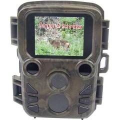 Mini Camera outdoor 16 MPixel LED neri, LED Low Glow, Video time lapse Mimetico
