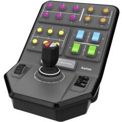 Saitek Farm Sim Vehicle Side Panel Console di comando USB PC Grigio