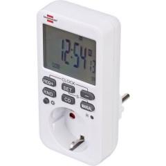 Temporizzatore digitale Settimanale 3600 W IP20 Funzione di conto alla rovescia, Funzionamento