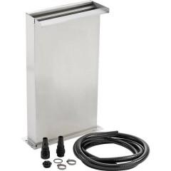 KIT Cascata acciaio inox (L x L x A) 145 x 305 x 600 mm 1 pz.