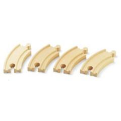 BRIO breve binari curvi (E1)