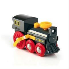 Grande locomotive à vapeur