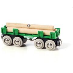Waggon mit Holzladung