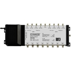SEW4098 SAT multiswitch Ingressi (Multiswitch): 9 (8 satellitare / 1 terrestre) Numero utenti: 8