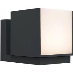 Cuba Lampada da parete per esterni a LED 12 W Bianco caldo Antracite