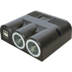 Distributore accendisigari Numero di accendisigari 2 x Interfacce: USB 2 x Portata massima corrente 16