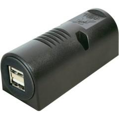 Struttura USB presa doppia Portata massima corrente=5 A Adatto per USB-A