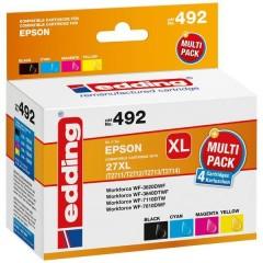 Cartuccia dinchiostro Compatibile sostituisce Epson 27XL /T2711/T2712/T2713/T2714 Imballo multiplo Nero, Ciano,