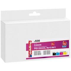 Cartuccia dinchiostro Compatibile sostituisce Canon PGI-2500XL Bk/C/M/Y Imballo multiplo Nero, Ciano, Magenta,