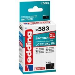 Cartuccia dinchiostro Compatibile sostituisce Brother LC3219XL Bk Singolo Nero EDD-583