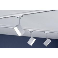 Pedal Lampada per sistema su binario URail LED a montaggio fisso 5 W LED (monocolore) Cromo (opaco)