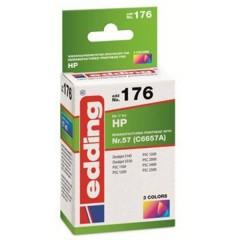 Cartuccia dinchiostro Compatibile sostituisce HP HP57 (C6657A) Singolo Nero EDD-176