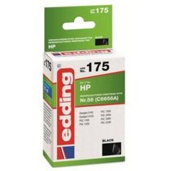 Cartuccia dinchiostro Compatibile sostituisce HP HP56 (C6656A) Singolo Nero EDD-175