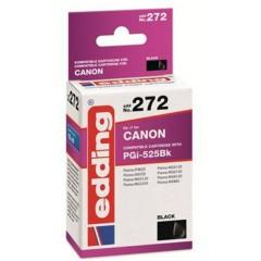 Cartuccia dinchiostro Compatibile sostituisce Canon PGI-525BK Singolo Nero EDD-272