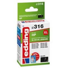 Cartuccia dinchiostro Compatibile sostituisce HP HP 901XL (CC654AE) Singolo Nero EDD-316