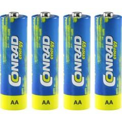 LR06 Batteria Stilo (AA) Alcalina/manganese 1.5 V 4 pz.