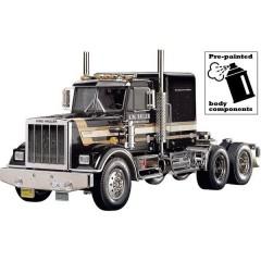 King Hauler Black Edition 1:14 Elettrica Camion modello In kit da costruire Pre-verniciato