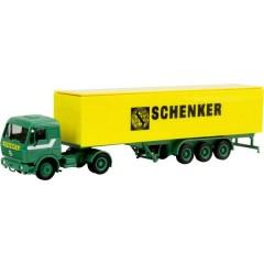 H0 Mercedes Benz S semirimorchio valigetta Schenker