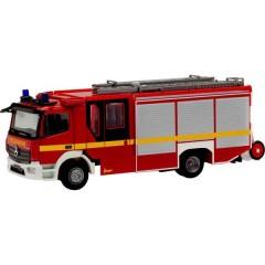 H0 Mercedes Benz Atego 13 Ziegler Z-CAB vigili del fuoco