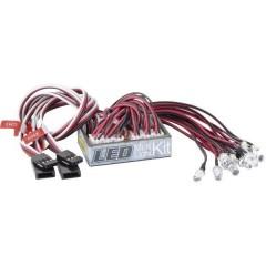 Unità luce Bianco, Rosso 4 - 6 V/DC