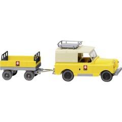 H0 Land Rover Con rimorchio PTT