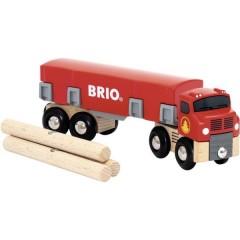 Carro di trasporto in legno Bilo con carica magnetica