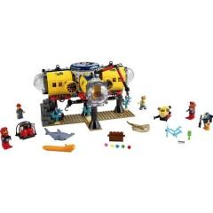 LEGO® CITY Base di ricerca marina