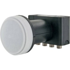 LNB Quad Numero utenti: 4 Diametro: 40 mm con Switch