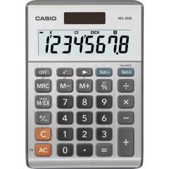 Calcolatrice da tavolo Grigio-Argento Display (cifre): 8 a energia solare, a batteria (L x A x P) 103 x 29