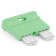 Fusibile piatto standard per auto 30 A Verde chiaro 1 pz.