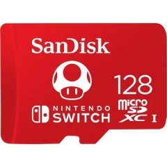 Extreme Nintendo Switch™ Scheda microSDXC 128 GB UHS-I, UHS-Class 3 Adatto per Nintendo Switch™