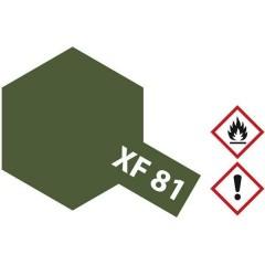 Vernice acrilica Verde scuro opaco XF-81 Contenitore in vetro 10 ml