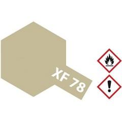 Vernice acrilica Marrone chiaro in legno deck opaco XF-78 Contenitore in vetro 10 ml