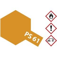 Vernice lexan Arancione metallizzato Codice colore: PS-61 Bombola spray 100 ml