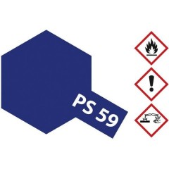 Vernice lexan Blu scuro (metallizzato) Codice colore: PS-59 Bombola spray 100 ml