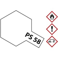 Vernice lexan Effetto perlato chiaro Codice colore: PS-58 Bombola spray 100 ml