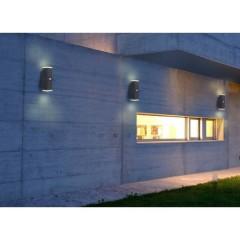 Lampada da muro con rilevatore di movimento 13 W N/A Spot Pir13 Grigio scuro