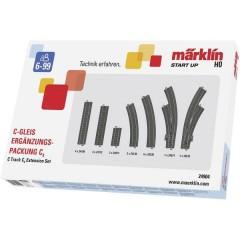 Kit di espansione H0 Märklin C (con massicciata) C4
