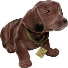 Cane dondolante da cruscotto (L x L) 30 cm x 10 cm Marrone