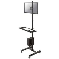 1 pezzo Carrello per monitor 25,4 cm (10) - 81,3 cm (32) Girevole, Rotante, Inclinabile